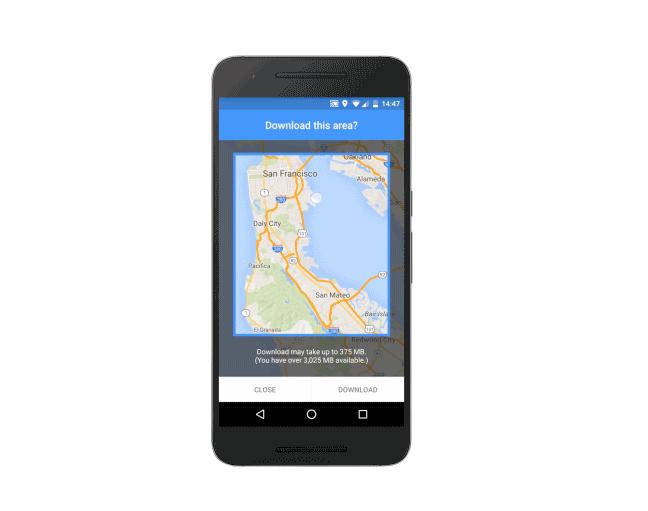 Google Maps Adds Offline Support