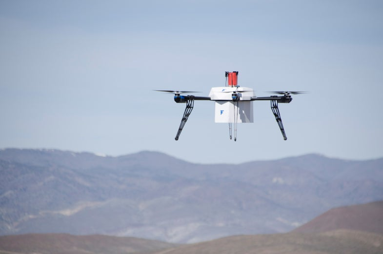 The First Urban Drone Delivery Just Happened In Nevada