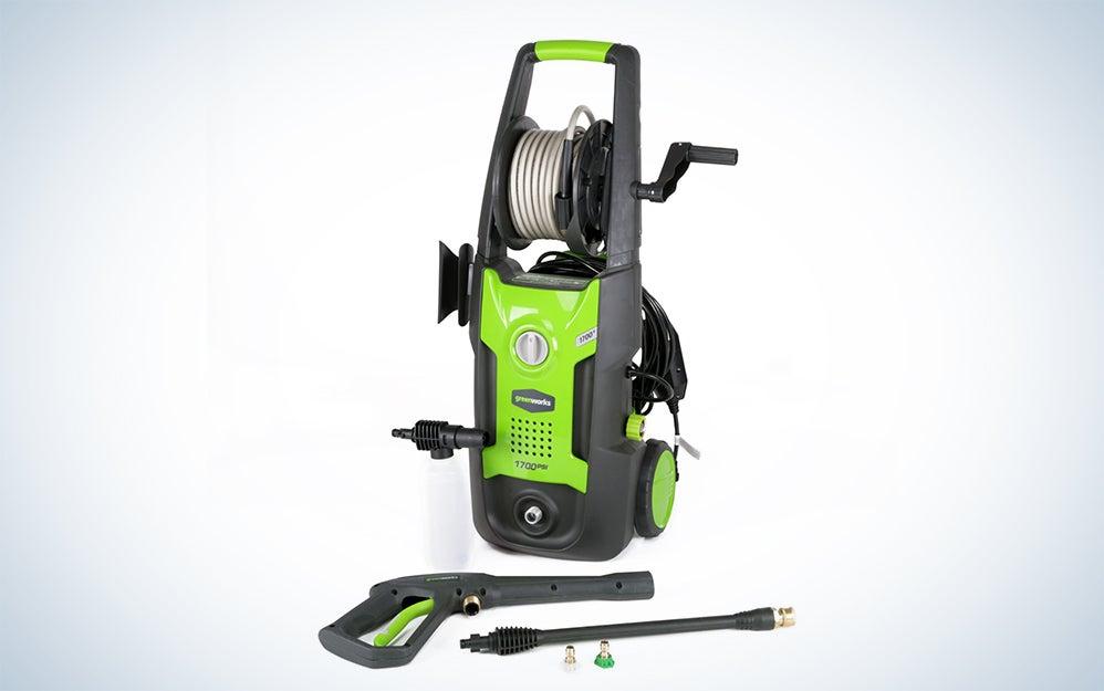 GreenWorks pressure washers