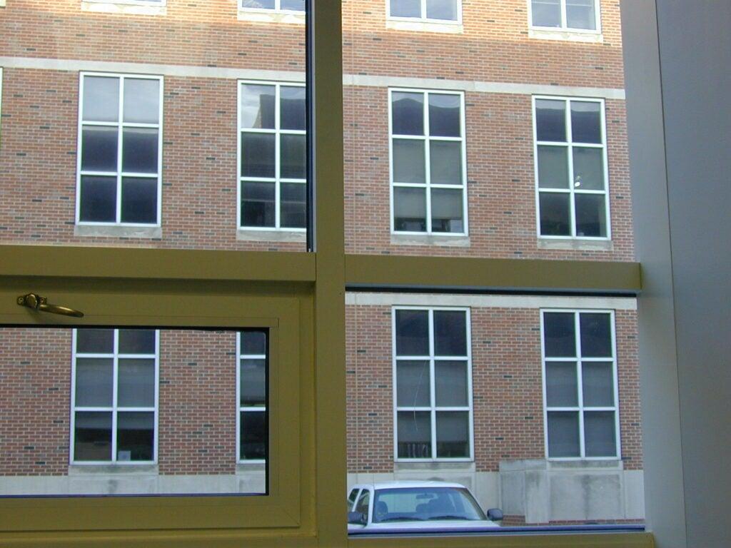 window in office