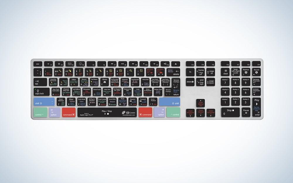 Logic Pro X Keyboard Cover