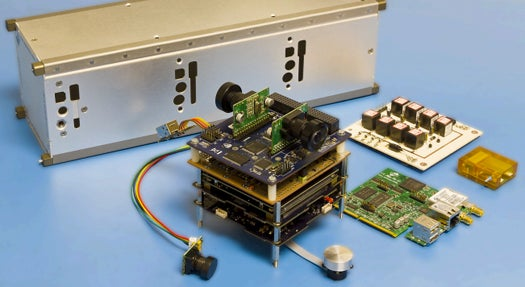 UK Firm Will Launch Android Smartphone into Orbit as the Brains (and Eyes) of a Microsatellite
