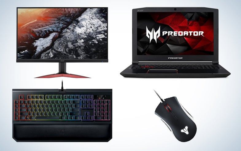 PC gaming gear