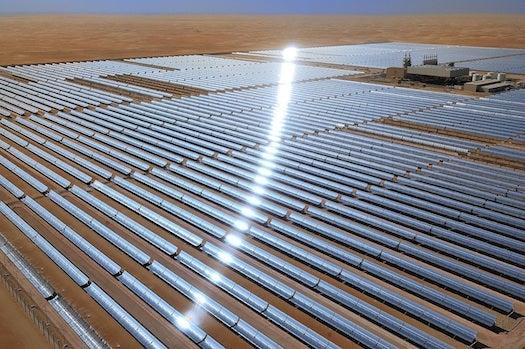 Massive Solar Power Plant Opens In Abu Dhabi