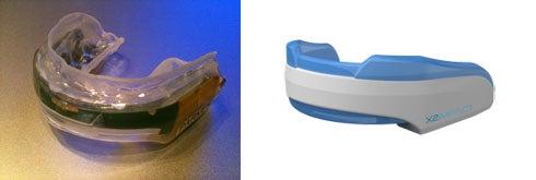 Sensor-Laden Mouthguards Record Head Impact Data on the Gridiron