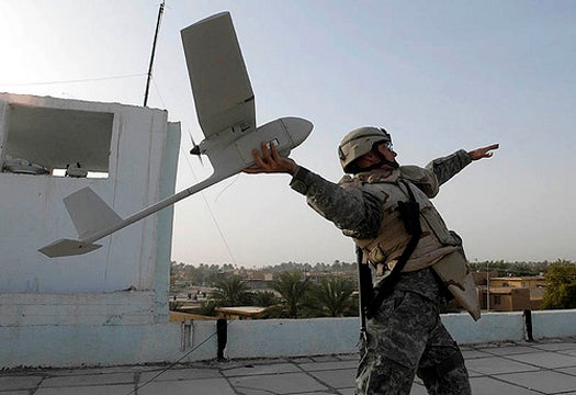 Congressional UAV Caucus Courts Robot Voters