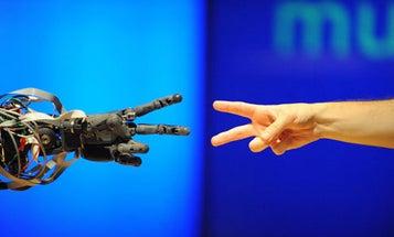 Robotic RoShamBo