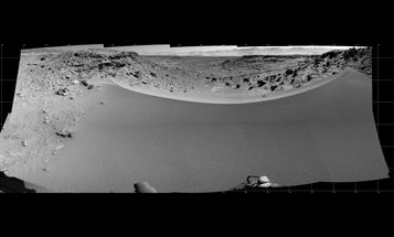Big Pic: Curiosity Considers A Sand Dune Crossing On Mars