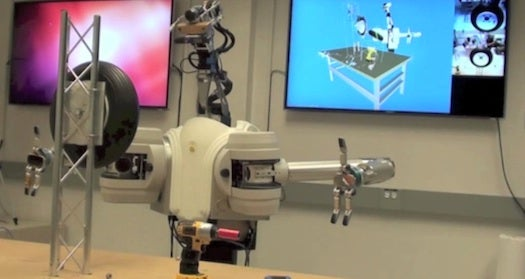 Low-Cost Robot Hand Can (Almost) Change A Tire