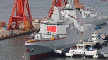 China Type 055 Destroyer
