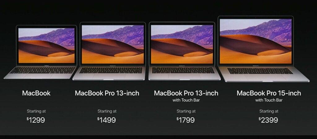 New MacBook Pros