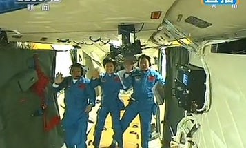 Another Milestone for China's Space Program as Space Pod Docks With Orbital Lab