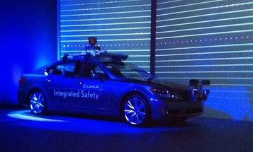 CES 2013: Lexus Unveils Autonomous 'Safety Research' Car