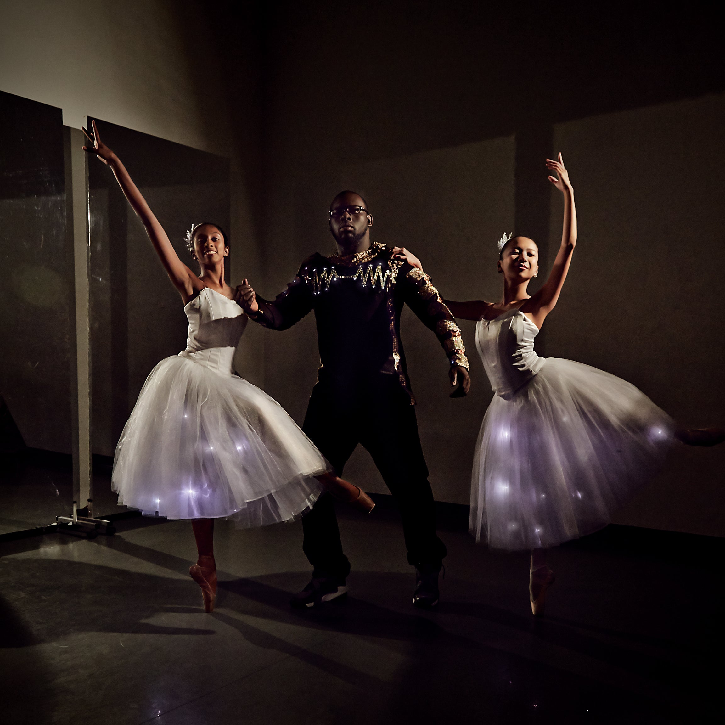 DIY Electrified Outfits Light Up The Ballet
