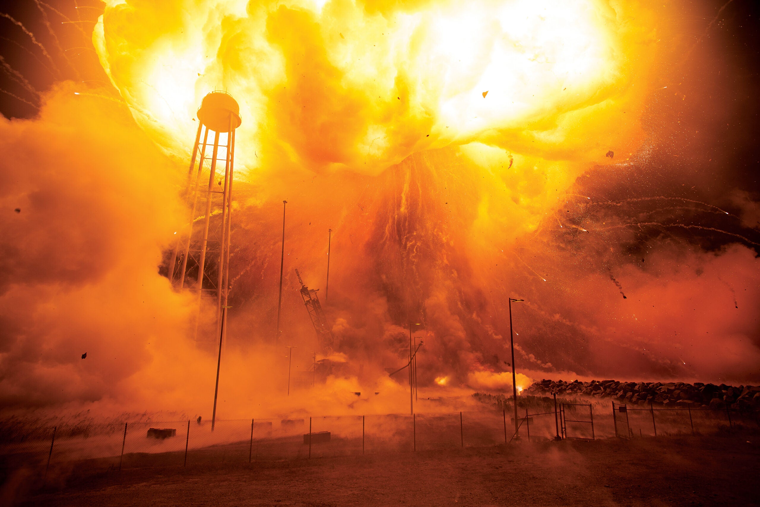 After October 2014 Explosion, Orbital ATK Prepares To Launch Again In May