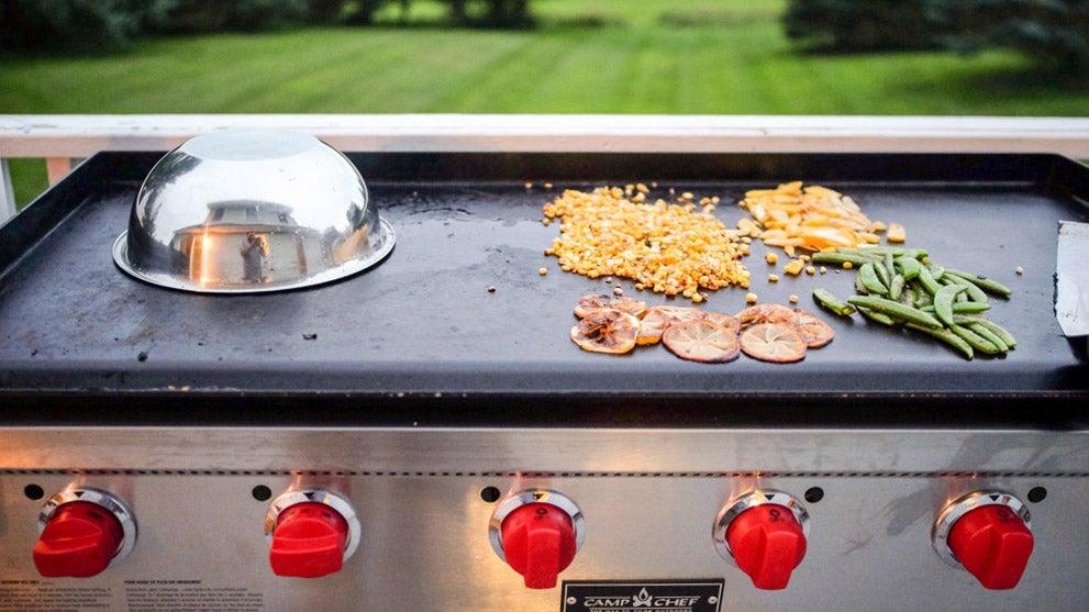 Flat top grill