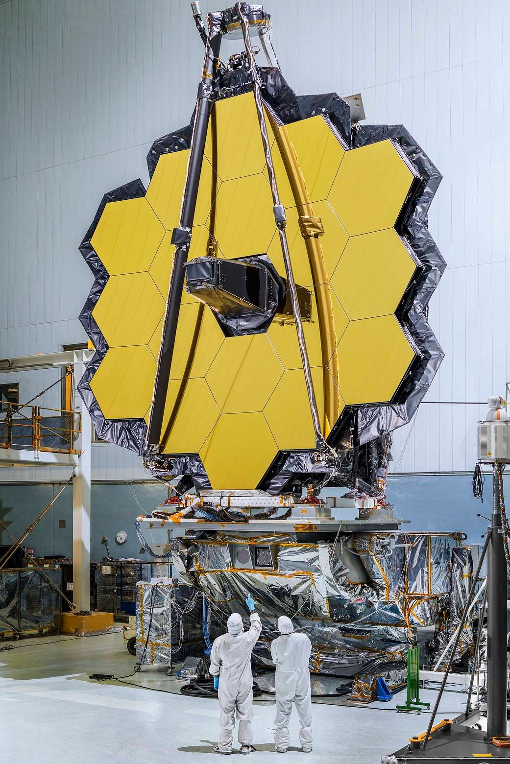 After 20 Years, NASA Finally Finished Building The James Webb Space Telescope