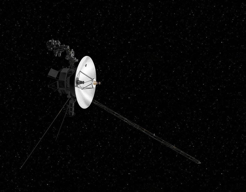 Voyager 2 is almost outside the sun's protective bubble