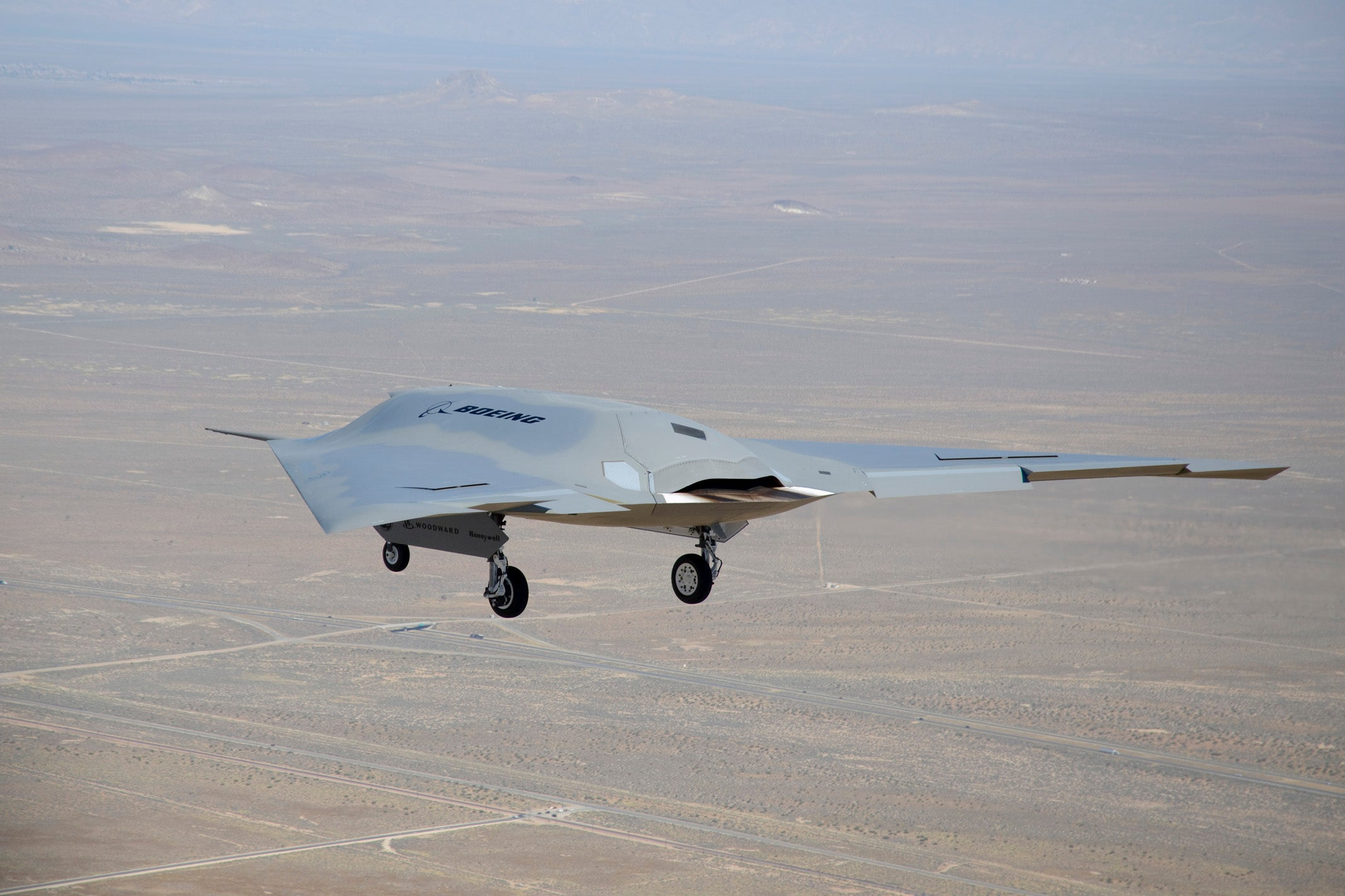 Video: Phantom Ray Drone Makes Maiden Solo Flight