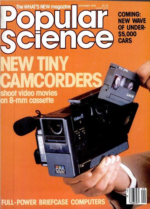 Tiny Camcorders: September 1985