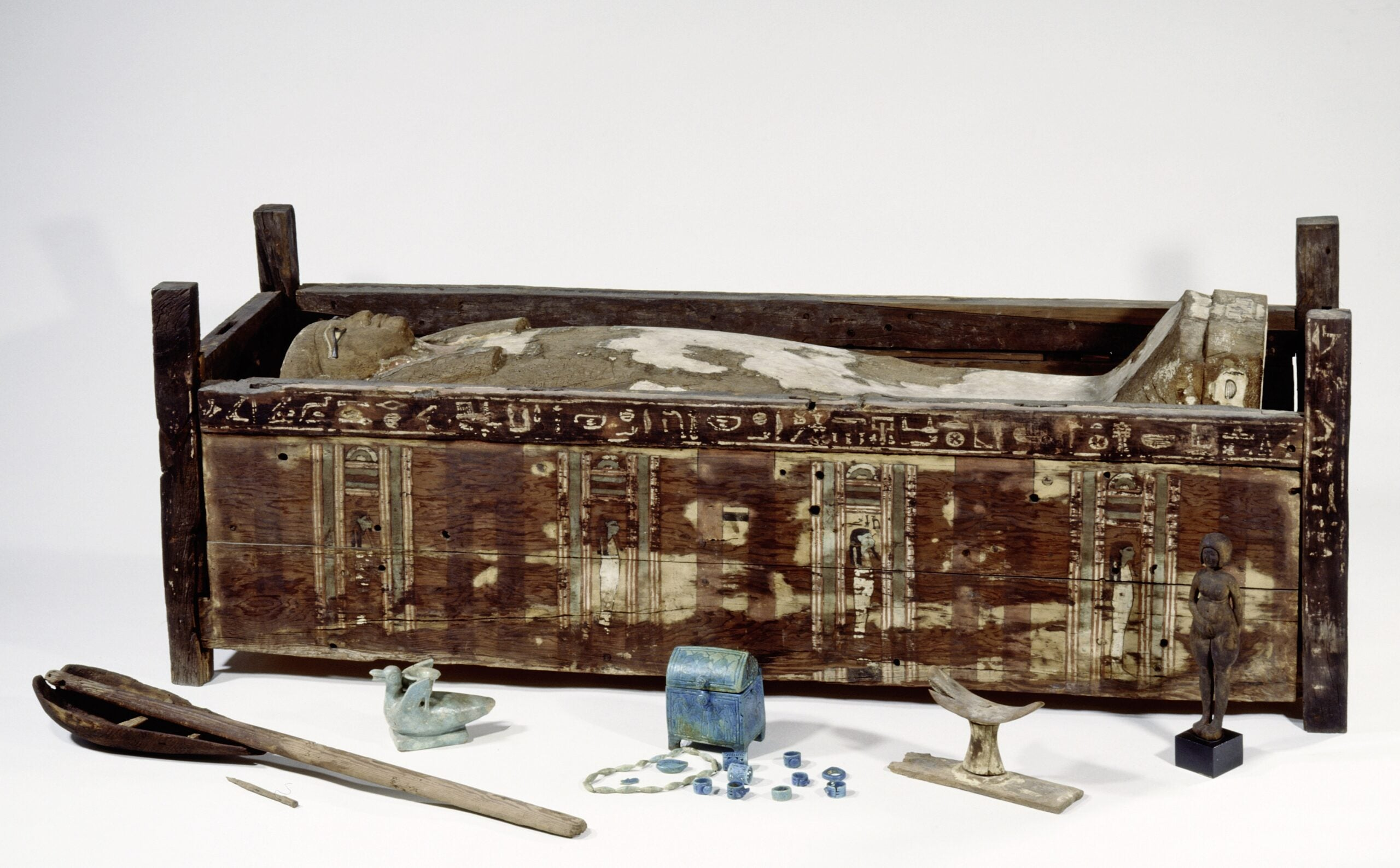 Scientists try to unwrap the secrets of Egyptian mummy DNA