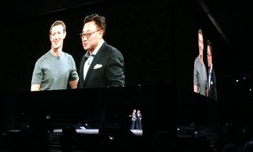 Mark Zuckerberg Helped Showcase Samsung's Gear VR At MWC 2016