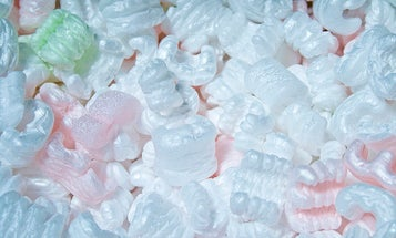 Recycled Packing Peanuts Could Make Batteries Better
