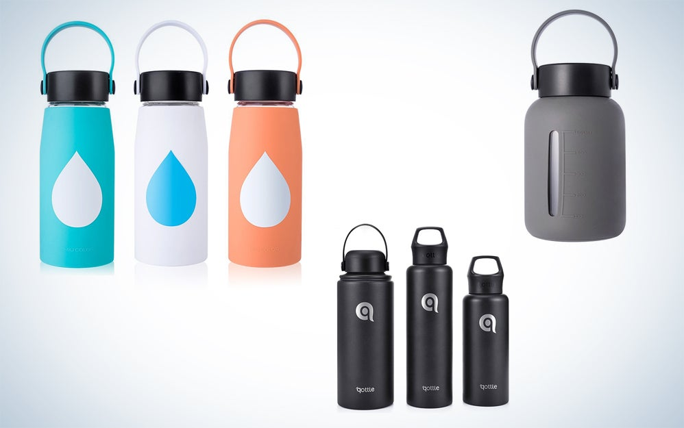 MIUCOLOR and qottle water bottles