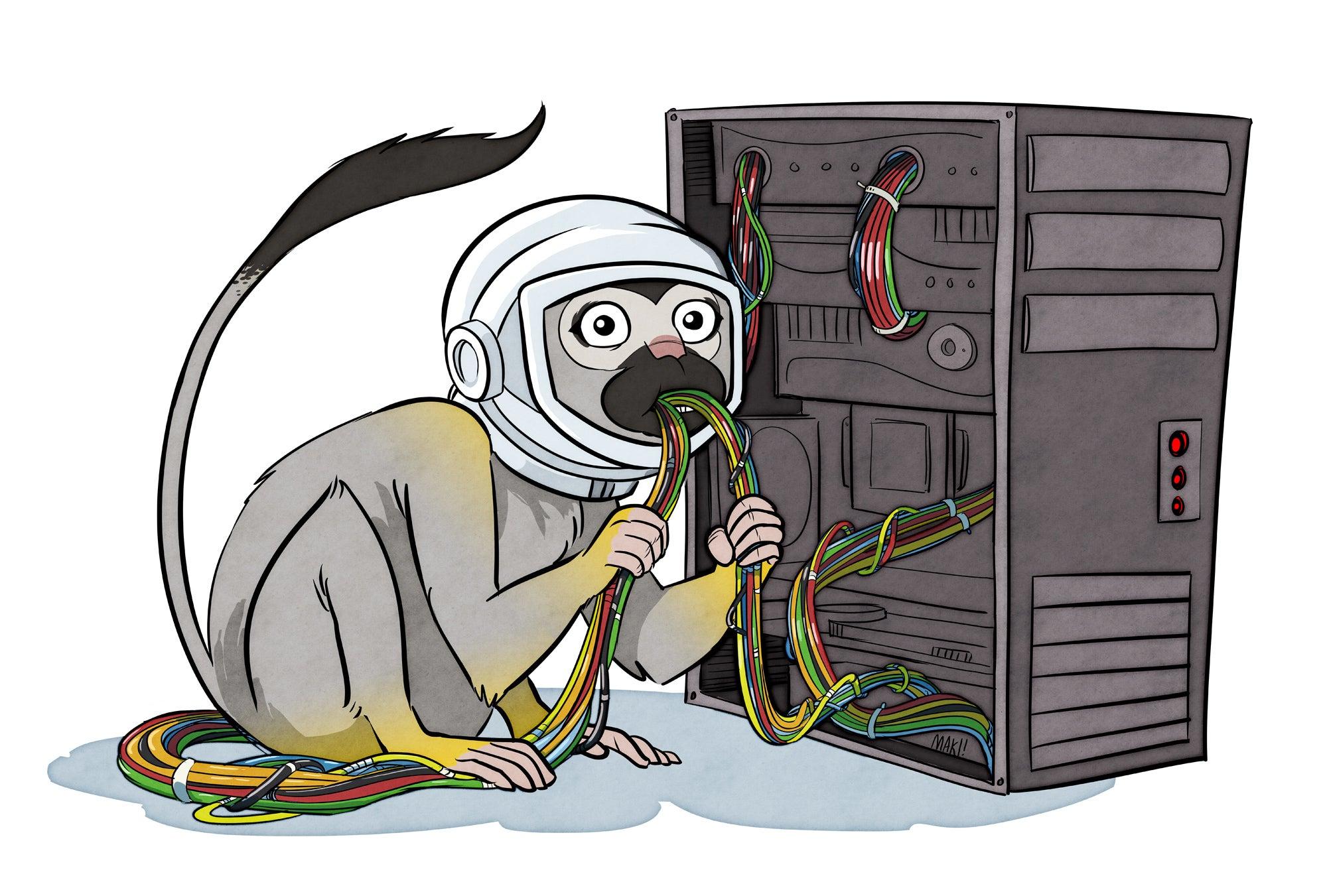 popular-science-404-miss-baker-monkey-by-maki-naro