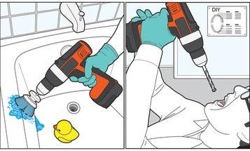 Good Idea/Bad Idea: Use A Power Drill To…