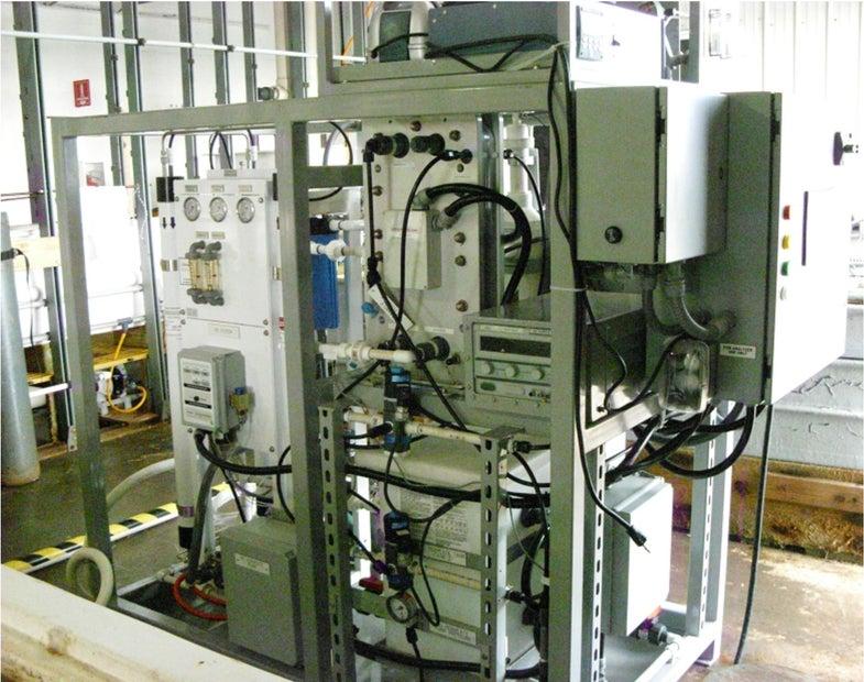 U.S. Naval Research Lab Carbon Capture Skid