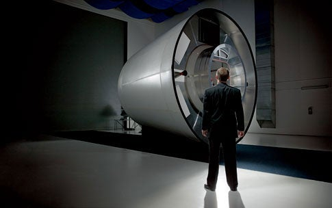 Can a Small Start-up Build America's Next Spaceship?