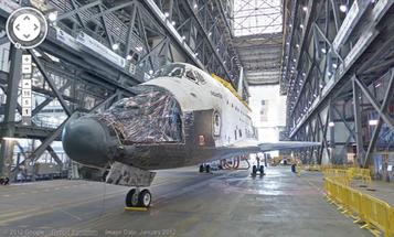 Video: Google Street View Adds Space Shuttles, Launch Pads and More At Kennedy Space Center