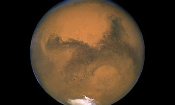 Red Planet; Blue Planet?