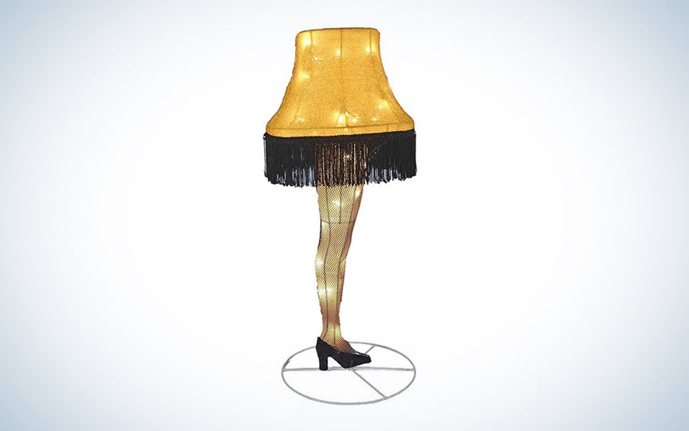 Christmas Story Leg Lamp Indoor or Outdoor