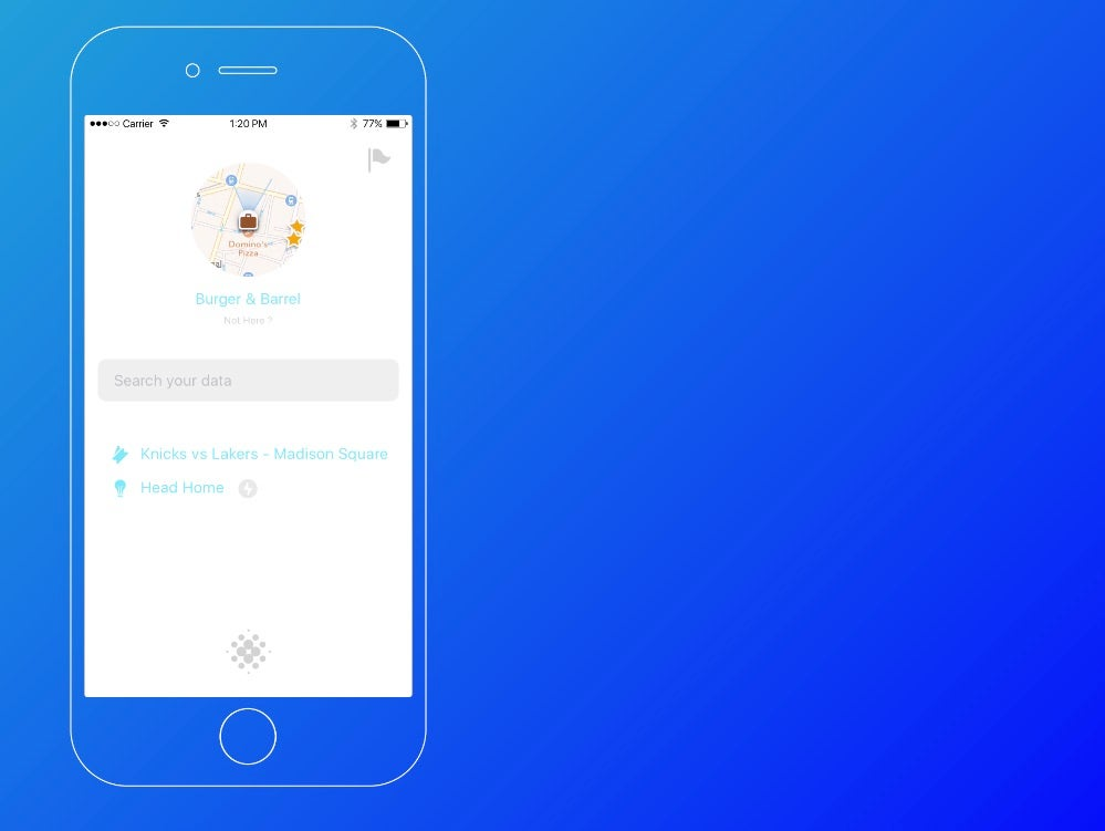 Snips is a new take on the virtual personal assistant.