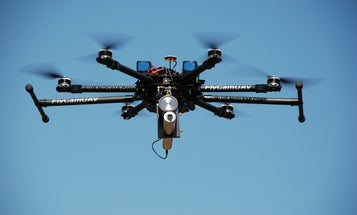 Flying Robots With Radiation Detectors Could Detect Toxic Leaks Safely