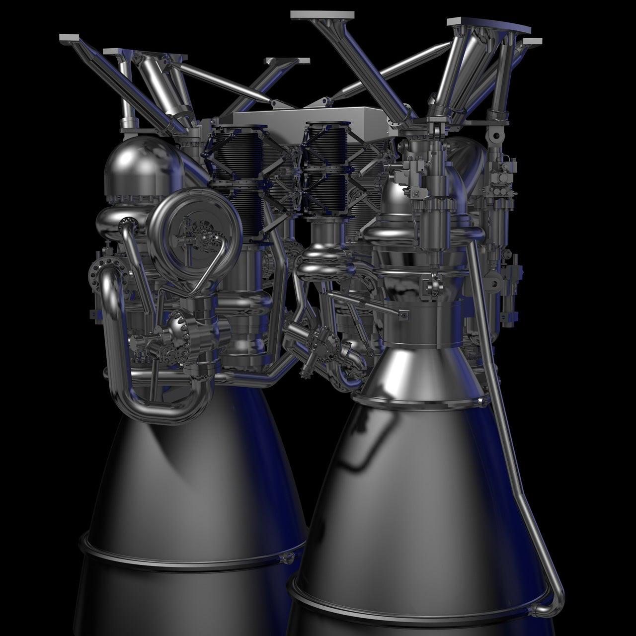 Artist Rendering Of New Rocket Engine