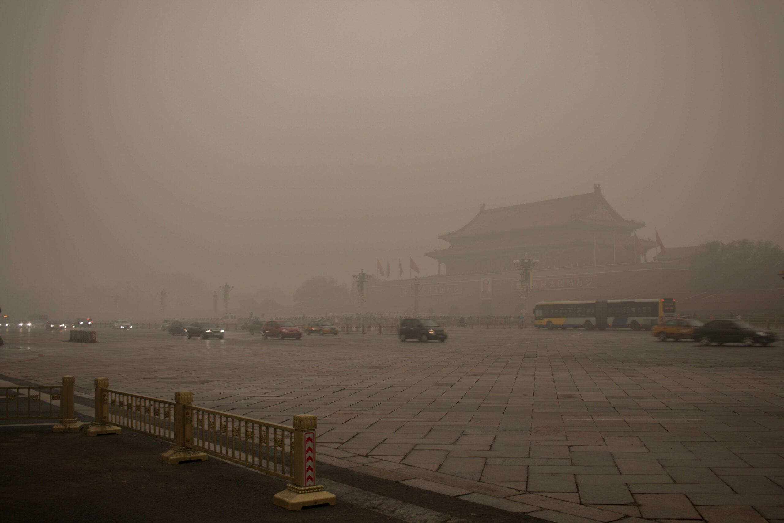 Why is the smog in China so bad?