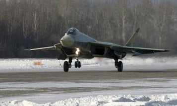 Video: Russia's New T-50 PAK FA Stealth Fighter Takes First Flight
