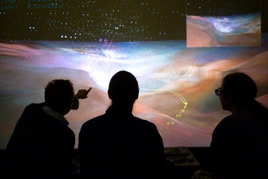 How The World's Most Powerful Visualization Lab Turns Hard Data Into Scientific Cinema