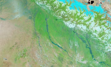 Before-And-After Satellite Photos Reveal Massive Flooding In Asia