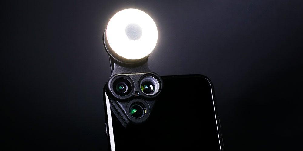 RevolCam Revolving Multi-Lens for Smartphones