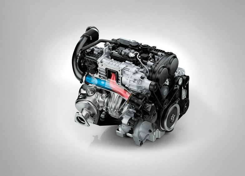 Volve Drive-E Engine