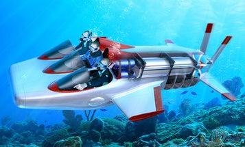 Submarine Genius Graham Hawkes Creates a Lightweight Leisure Sub