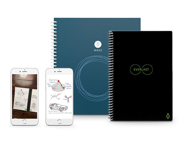 This notebook lets you erase all your notes and start again