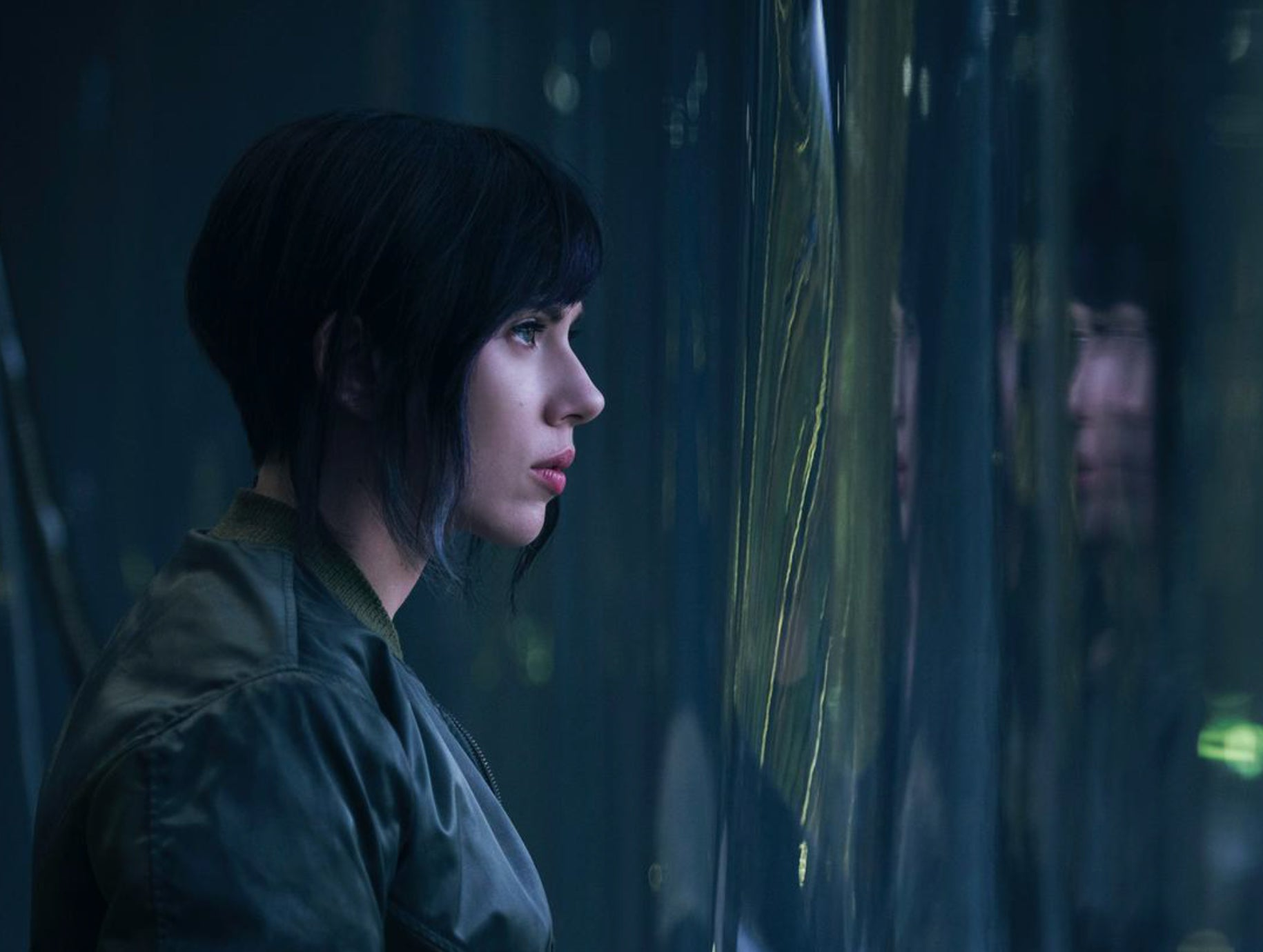First Look: 'Ghost in the Shell' With Scarlett Johansson