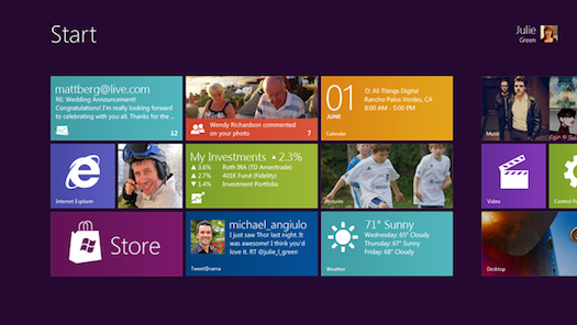 Microsoft Shows Off Windows 8: A Sleek New Tablet Interface, Coexisting With Regular Windows