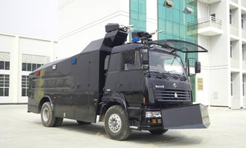 Iran Loads Up On High-Tech Chinese Riot-Control Trucks