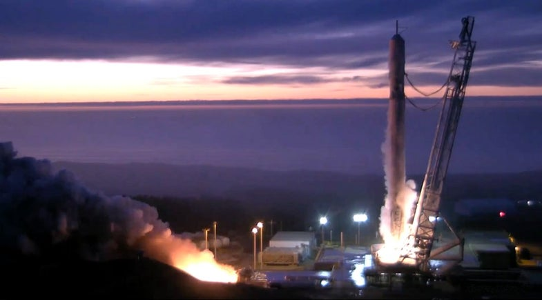 Falcon 9 Is On Track For January 17 Launch And Landing